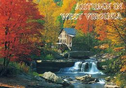 1 AK USA West Virginia * Babcock State Park - Autumn In West Virginia - The Babcock's Glade Creek Grist Mill * - Etats-Unis