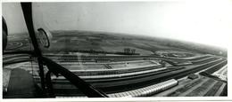 Photo Panoramique Circuit De Formule 1 De Nivelles Années 70 Depuis Hélicoptère - Automobiles