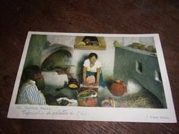 MEXIQUE  MEXICO 1904  130 TORTILLERA FABRICATION GALETTES DE MAIS - Mexique