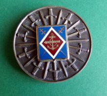 Médaille De Table Militaire Régiment D'Infanterie De Marine Dia 6,8 Cm - Army & War