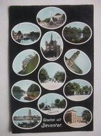 P115 Ansichtkaart Groeten Uit Deventer - 1905 - Deventer