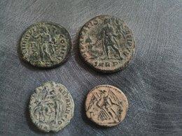 Lot De Monnaies Romaines Non Nettoyées à Identifier - 1. Repubblica (-280 / -27)