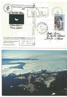 YT 457 - Marthe Emmanuel - éclipse Solaire - Dumont D'Urville - Terre Adélie - 07/02/2008 - Lettres & Documents