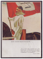 Dt- Reich (W00045) Propagandakarte, Der Bannerträger, Hoffmann- Karte NR 428, Gelaufen Am 10.4.1938 Wesselburen - Allemagne