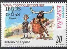 EPAGNE SPANIEN SPAIN ESPAÑA 2000 FROM SPAIN HISTORY: ÍBEROS Y CELTAS 20 PTAS ED 3736 YT 3303 MI 3569 SG 3681 SC 3053E - 1931-Heute: 2. Rep. - ... Juan Carlos I
