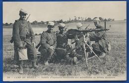 Légionnaire   Soldats D'Infanterie Actionnant Une Mitrailleuse - Manoeuvres