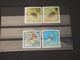 WALLIS FUTUNA - 1974 INSETTI 4  VALORI - NUOVI(++) - Wallis E Futuna