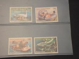 NAZIONI UNITE-GINEVRA - 2000 FAUNA 4  VALORI - NUOVI(++) - Ginevra - Ufficio Delle Nazioni Unite