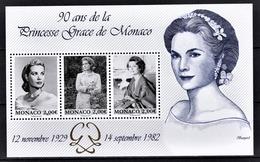 ** MONACO 2019 / BLOC - 90 ANS DE LA PRINCESSE GRACE DE MONACO - NEUF  ** - Blocs