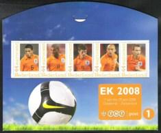 Voetbal EK 2008 Vier Velletjes ** Met De Nederlandse Spelers  Nominaal EUR  8,80 - Sellos Privados
