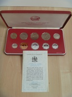 Malta 1979 Decimal Proof Set Coinage Minted At The Franklin Mint Some Toning Comes In A Nice Case - Malta