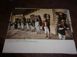 MEXIQUE  MEXICO 1904   GRAND FORMAT 1904 CARAVANA DE VENDEDORES DE OLLAS - Mexique