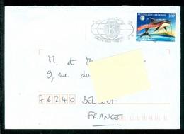 """Kiwanis Club, Oblitération / Cancel """"Halte Aux Violents"""". Baleines + Cétacés. Timbre Nouvelle-Calédonie(6851) - Nouvelle-Calédonie"""