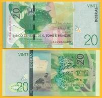 Saint Thomas & Prince / Sao Tomé E Principe 20 Dobras P-72 2016 (2018) UNC Banknote - São Tomé U. Príncipe