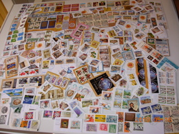 Stamps On Paper From Serbia,Moldova,Croatia,Bosnia,Thailand,Switzerland,Italy..all From The Picture - Stamps