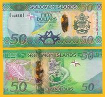 Solomon Islands 50 Dollars P-35 2013 UNC Banknote - Isla Salomon