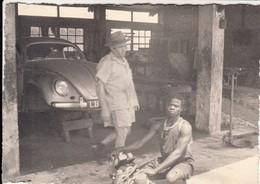AUTO CAR - VOLKSWAGEN MAGGIOLINO BEETLE - FOTO ORIGINALE AFRICA - Automobili