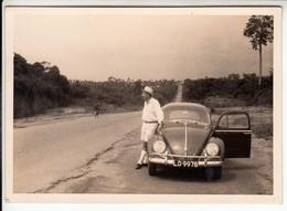 AUTO CAR VOITURE VOLKSWAGEN MAGGIOLINO BEETLE - FOTO ORIGINALE AFRICA - Automobiles
