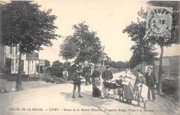 08-GIVET- ROUTE DE LA MAISON BLANCHE- FRANTIERE BELGE- VISITE A LA DOUANE - Givet