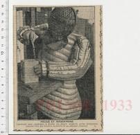 Presse 1933 Police Démineur Déminage D'une Bombe à Berlin Artificier Criminologie 223CHV6 - Unclassified