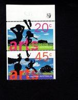 785473925 1996  SCOTT 1556 1557  POSTFRIS  MINT NEVER HINGED EINWANDFREI  (XX) - ARTS COUNCILS IN REGIONAL AUSTRALIA - - 1990-99 Elizabeth II