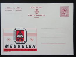ENTIER CP PUBLIBEL 1867. MEUBELEN . FIRMA VIKTOR VERHEYEN . LIER   . NEUF - Publibels