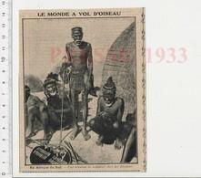 Presse 1933 Notables Zoulous Afrique Du Sud 223CHV6 - Unclassified