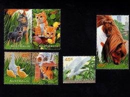 785474306 1996  SCOTT 1558 1563  POSTFRIS  MINT NEVER HINGED EINWANDFREI  (XX) -PETS CATS DOGS HORSES BIRDS - Ungebraucht