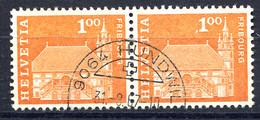 Schweiz, 1960 Baudenkmäler, Fribourg  Rundstpl.  Hundwil - Switzerland