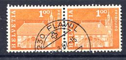 Schweiz, 1960 Baudenkmäler, Fribourg  Rundstpl.  Flawil - Switzerland