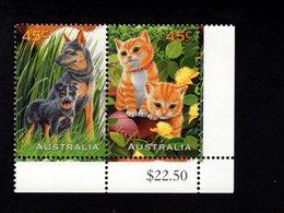 785475500 1996  SCOTT 1562A  POSTFRIS  MINT NEVER HINGED EINWANDFREI  (XX) -PETS DOGS CATS - 1990-99 Elizabeth II