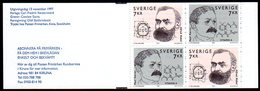 SWEDEN 1997 Nobel Prize Winners Booklet MNH / **.  Michel MH233 - 1981-..