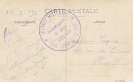 CP MEUSE REVIGNY. 1916. CAHET COMMISSION DE GARE REVIGNY - Railway Post