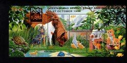 785476514 1996  SCOTT 1563F  POSTFRIS  MINT NEVER HINGED EINWANDFREI  (XX) -PETS CATS DOGS HORSES BIRDS - Ungebraucht
