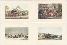 Gf. DILIGENCE. 4 Cartes - Cartes Postales