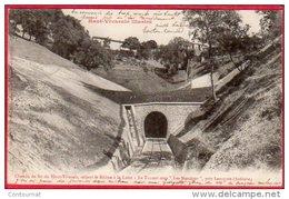 """CPA 07  Chemin De Fer Du Haut Vivarais Reliant Le Rhône à La Loire Le Tunnel Sous """" Les Nonières """" Près LAMASTRE - France"""
