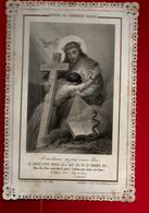 Image Pieuse Holy Card Canivet Dentelle Modèle De Contrition Filiale ...Ed Letaillé Boumard PL 582 - Images Religieuses