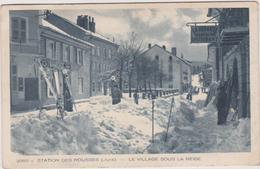 39 Les Rousses   Le Village Sous La Neige - France