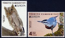 "TURKEY/Türkei EUROPA 2019 ""National Birds"" Set Of 2v** - 2019"