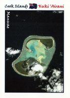 1 AK Cook Islands * Blick Auf Das Atoll Manuae - Es Besteht Aus Den Inseln Manuea Und Te Au O Tu - Luftbildaufnahme * - Cook-Inseln