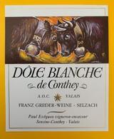 10631  - Dôle Blanche De Conthey Suisse Combats De Reines - Vaches