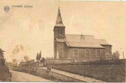 Aulnois NA3: L'Eglise 1923 - Quévy