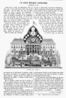 "UNE PETITE MERVEILLE D'HORLOGERIE ( L'HORLOGE RUSSE "" LA GARE""  ) 1901 - Bijoux & Horlogerie"