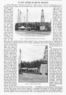LE PUITS ARTESIEN Du BOIS De VINCENNES  1901 - Technical
