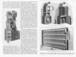 AUTO-COMMUTATEUR TELEPHONIQUE Bureau Central Automatique  1901 - Technical