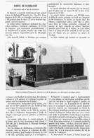 BOBINE De RUHMKORFF à Etincelles De 0,80 M De Longueur  1901 - Technical