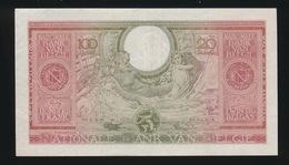 100 FRANCS 20 BELGAS  01.02. 43   IN NIEUWSTAAT  2 SCANS - [ 2] 1831-... : Koninkrijk België