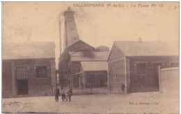 PAS DE CALAIS SALLAUMINES FOSSE N°13 - Francia