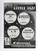 Musica Spartiti - Serie Little Jazz - Vari Strumenti - Ed. Paganini 1950 - Unclassified
