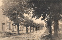 Ste-Marie-sur-Semois NA7: Rue De La Gare 1934 - Etalle